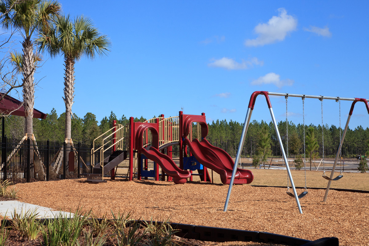 Amenity Park at a KB Home community in St. Johns County, FL