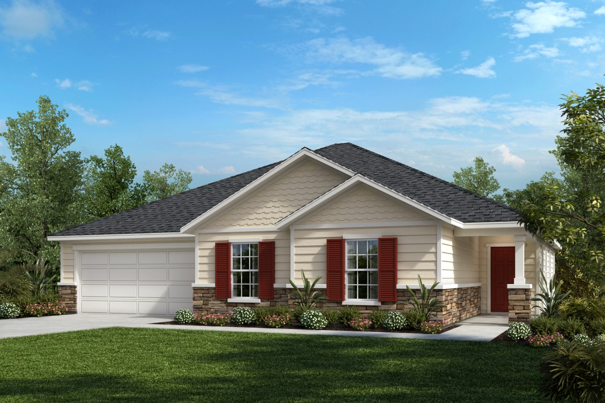 New Homes in Jacksonville, FL - The Dalton