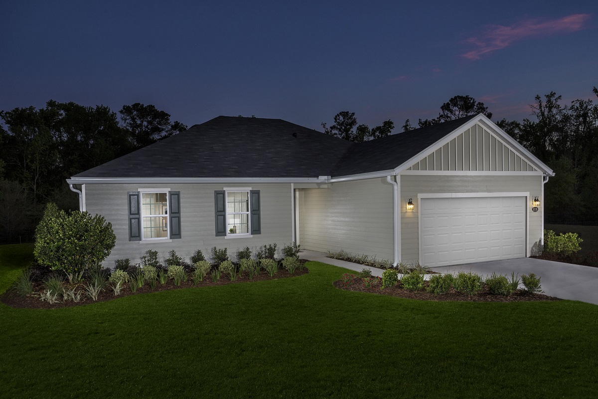 New Homes in Jacksonville, FL - The Stewart Modeled