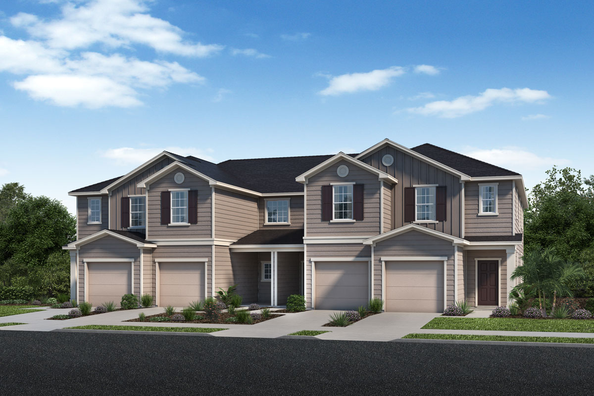 New Homes in Jacksonville, FL - Traditional 4-Plex