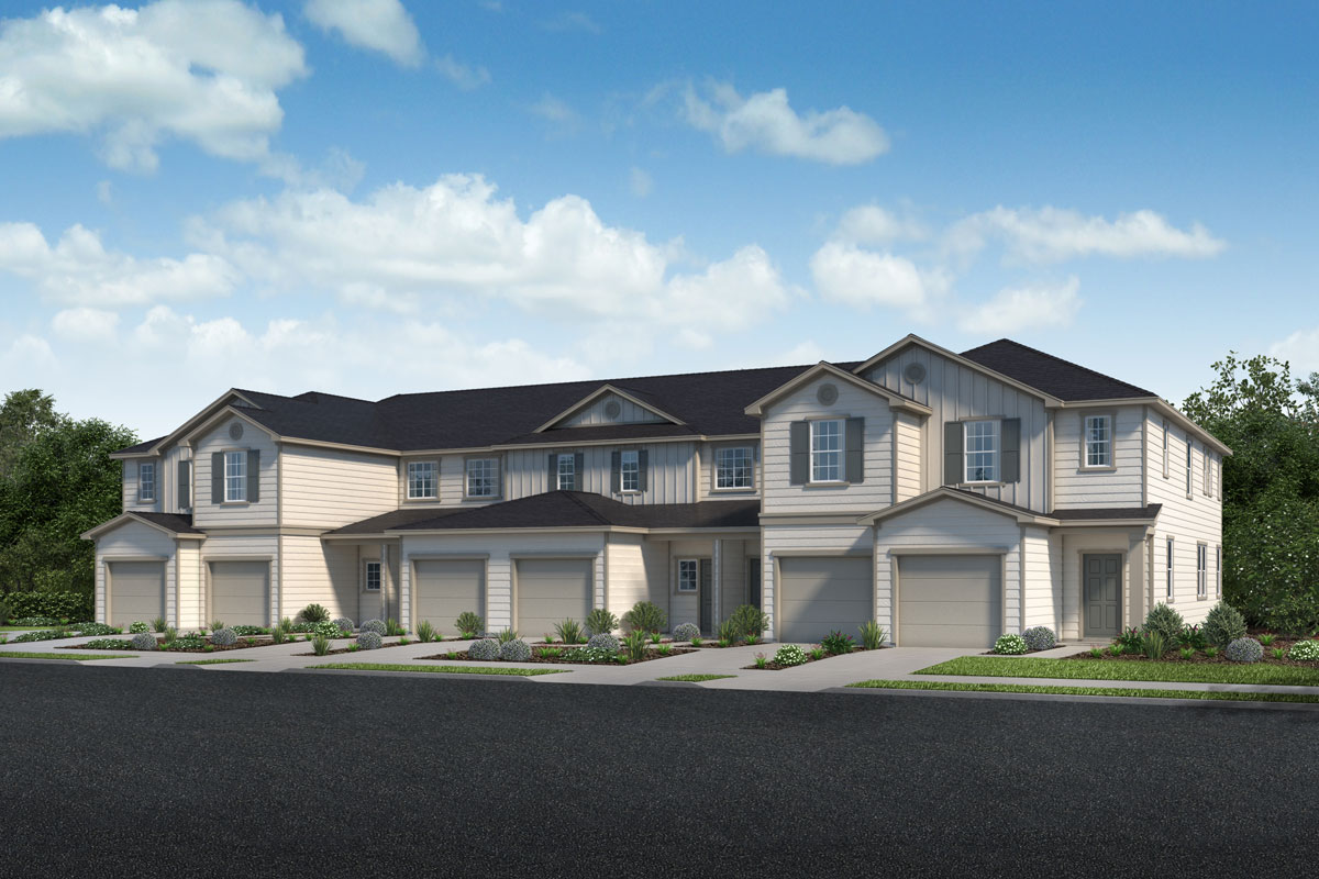 New Homes in Jacksonville, FL - Traditional 6-Plex