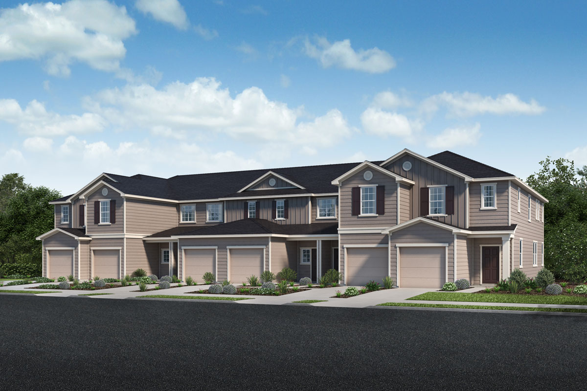 New Homes in Jacksonville, FL - Meadows at Oakleaf Townhomes Homesite 11
