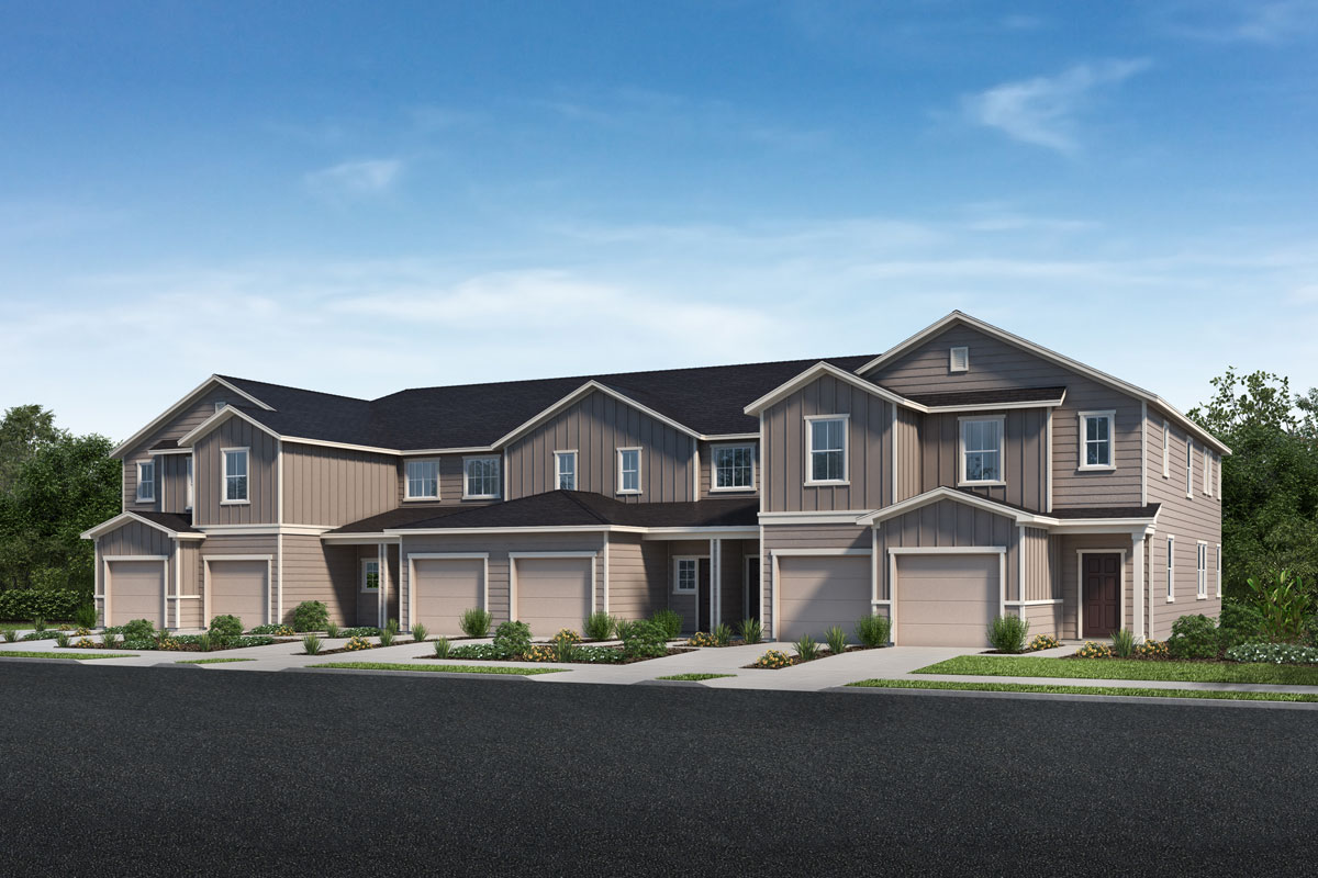 New Homes in Jacksonville, FL - Craftsman 6-Plex