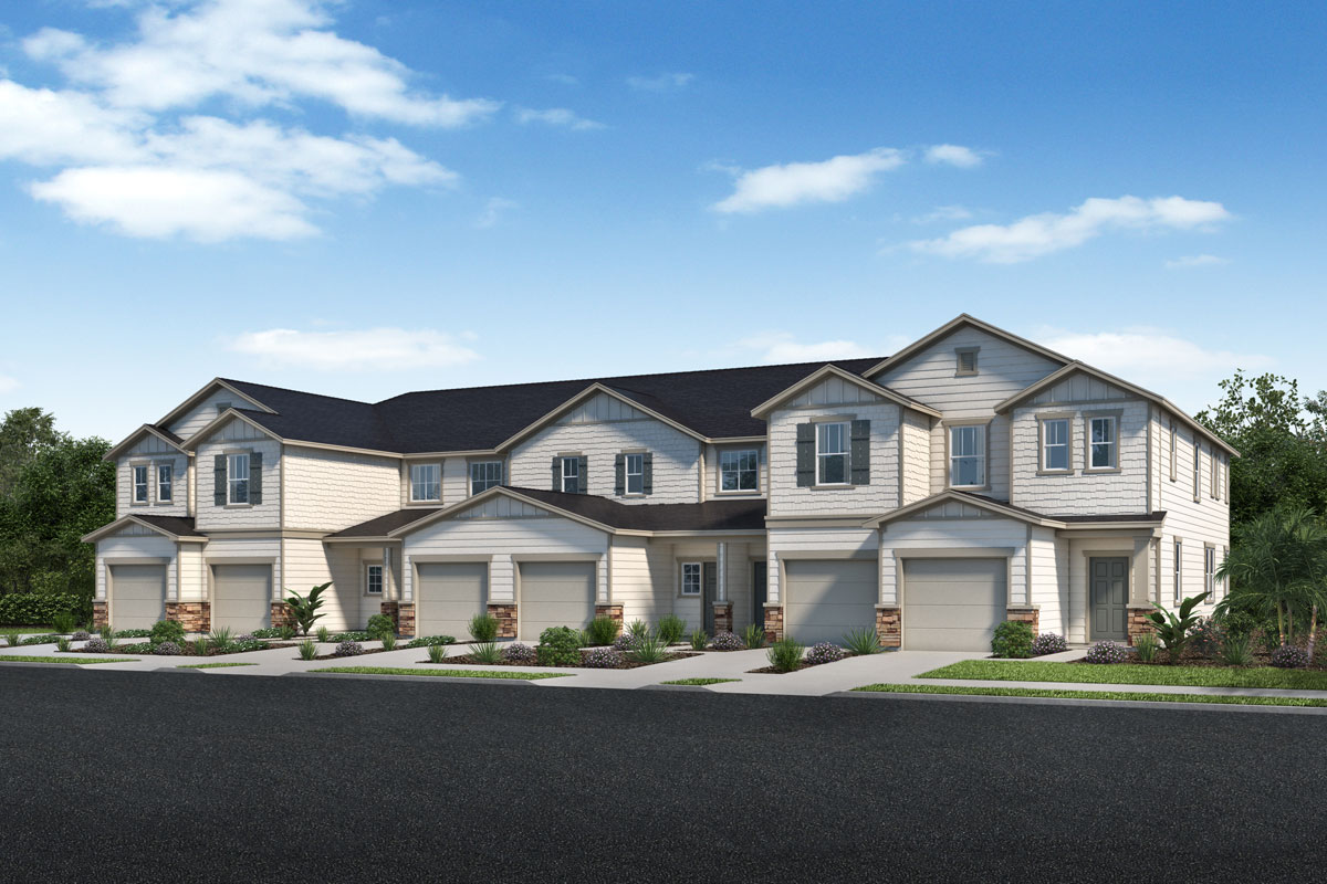 New Homes in Jacksonville, FL - Spanish 6-Plex