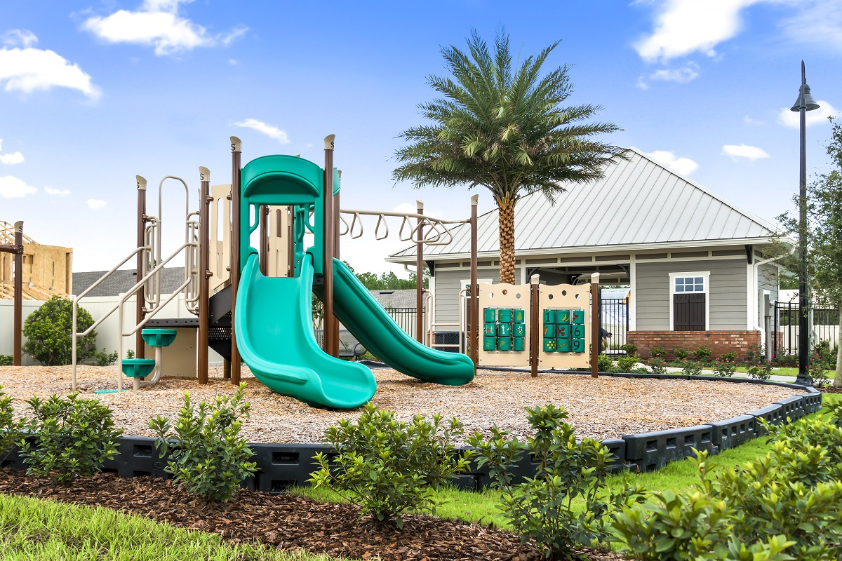 New Homes in Jacksonville, FL - Meadows at Oakleaf Townhomes Community Playground