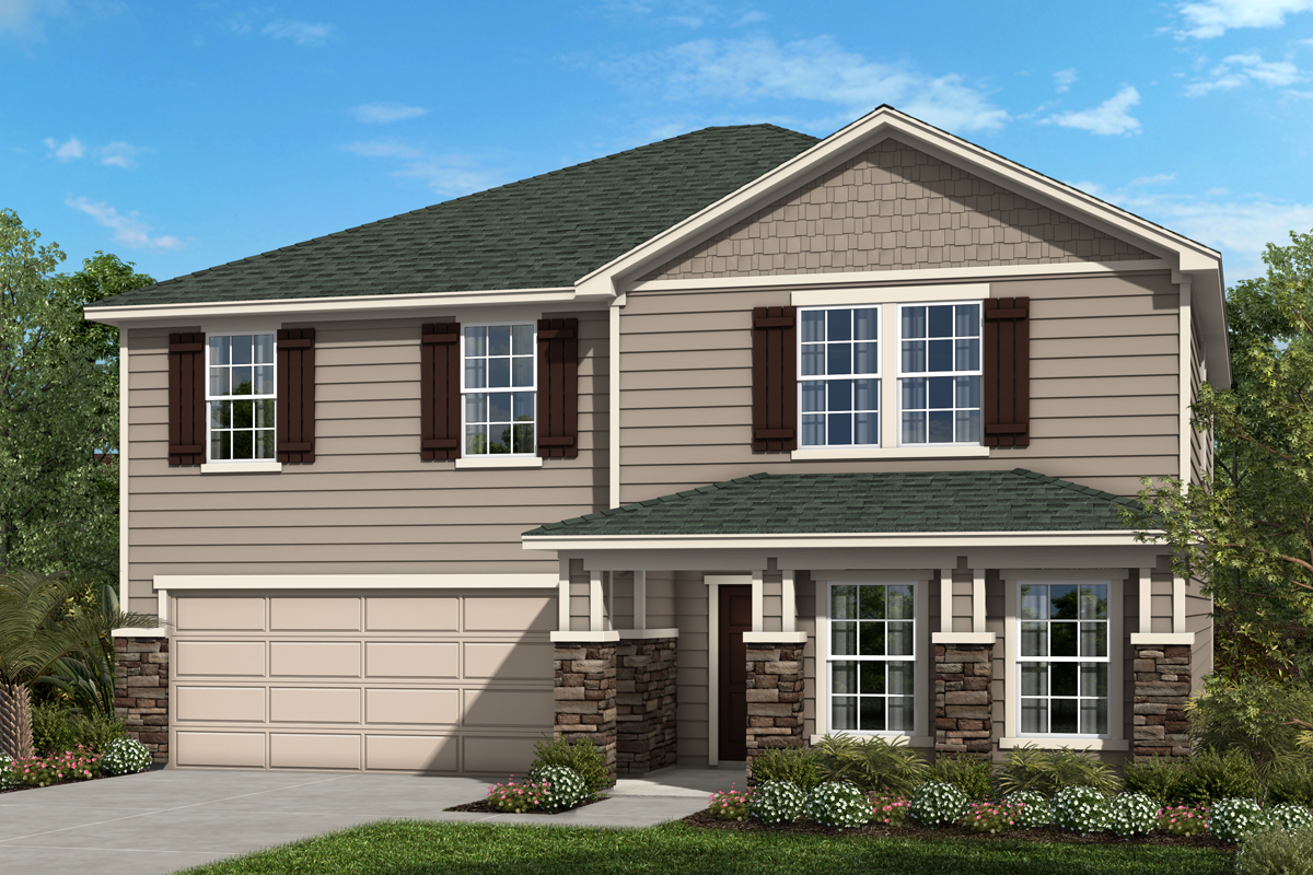 New Homes in Jacksonville, FL - Palmetto Bluff Plan 2566 Elevation N