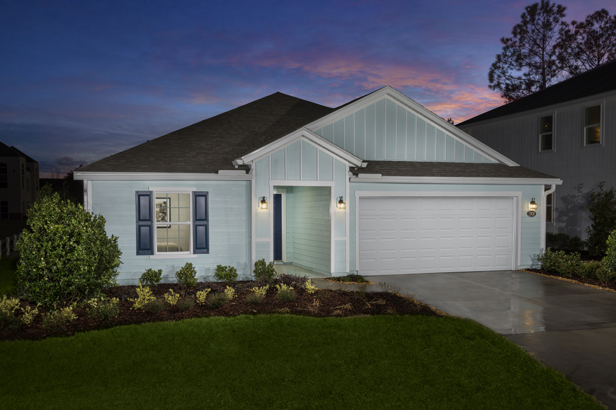 New Homes in Jacksonville, FL - Palmetto Bluff Plan 2003 as modeled at Magnolia Grove