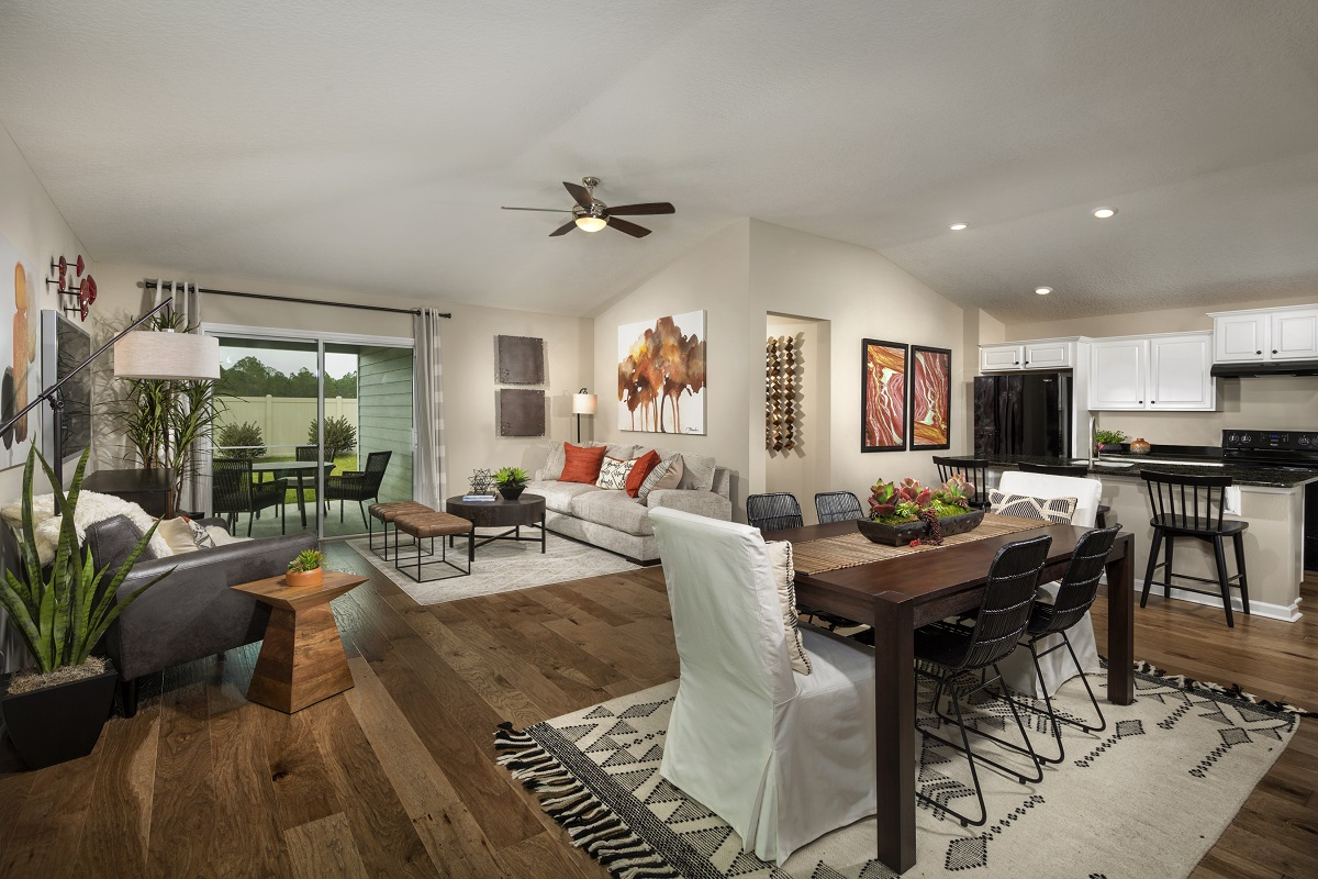 New Homes in Jacksonville, FL - Meadows at Oakleaf The Darby Great Room