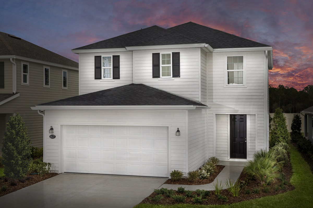 New Homes in Jacksonville, FL - The Savannah Modeled