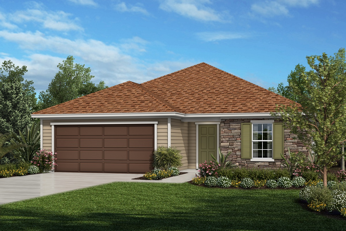 New Homes in St. Johns County, FL - Mill Creek Plantation The Lennon