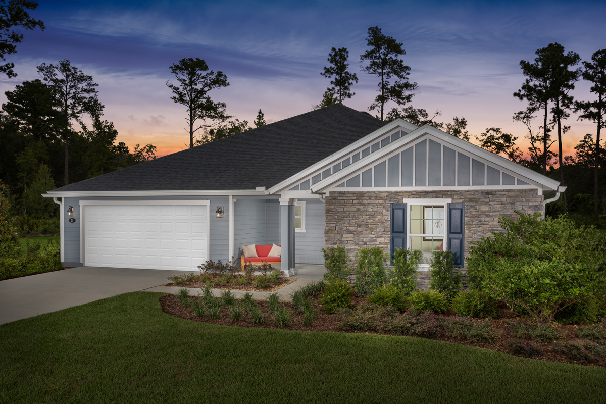 New Homes in St. Johns County, FL - Mill Creek Plantation The Covington