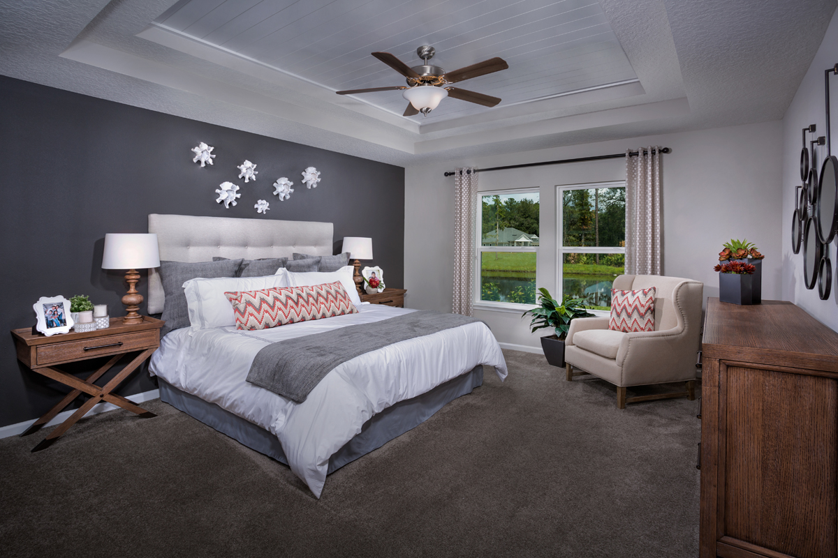 New Homes in St. Johns County, FL - Mill Creek Plantation The Covington Owner's Suite