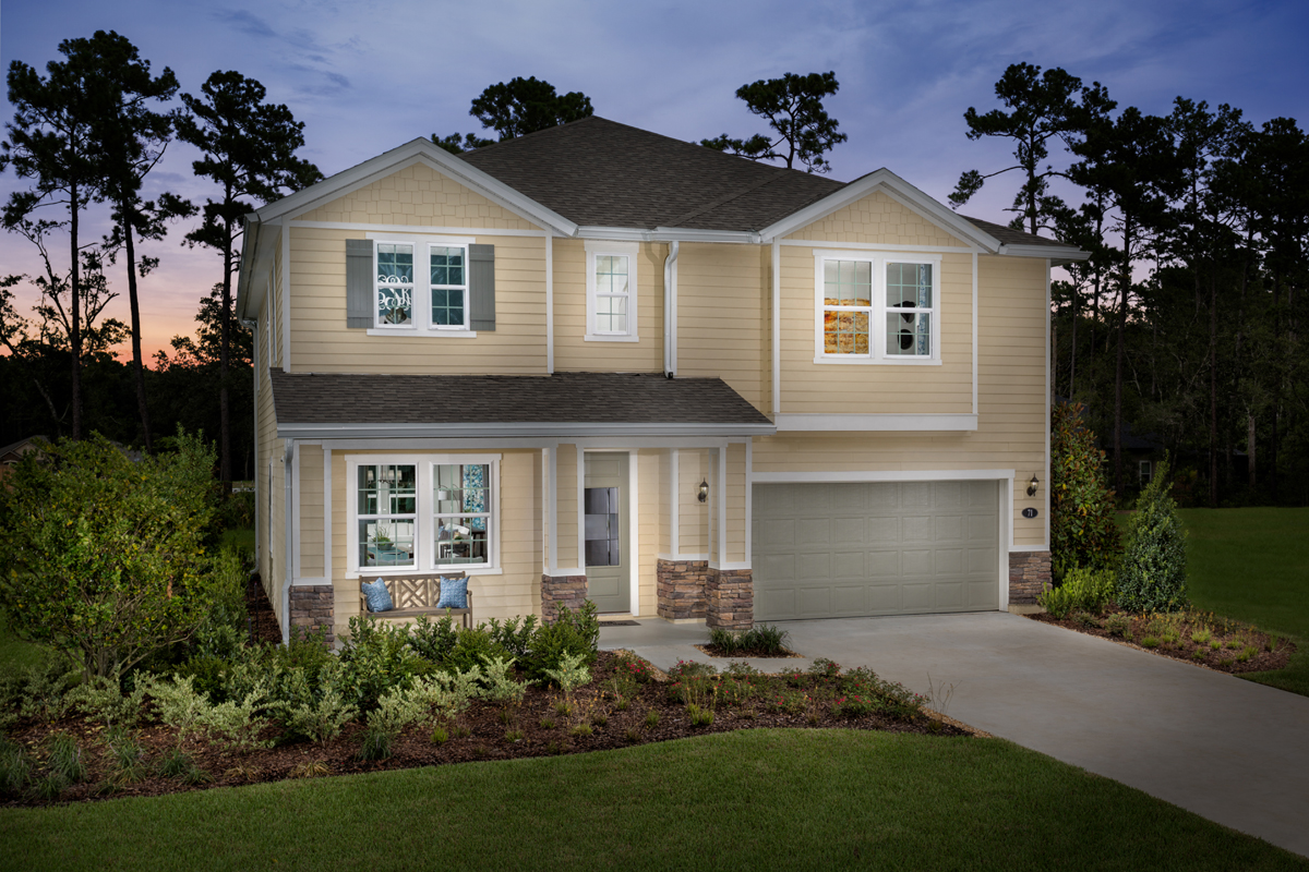 New Homes in St. Johns County, FL - Mill Creek Plantation The Palm