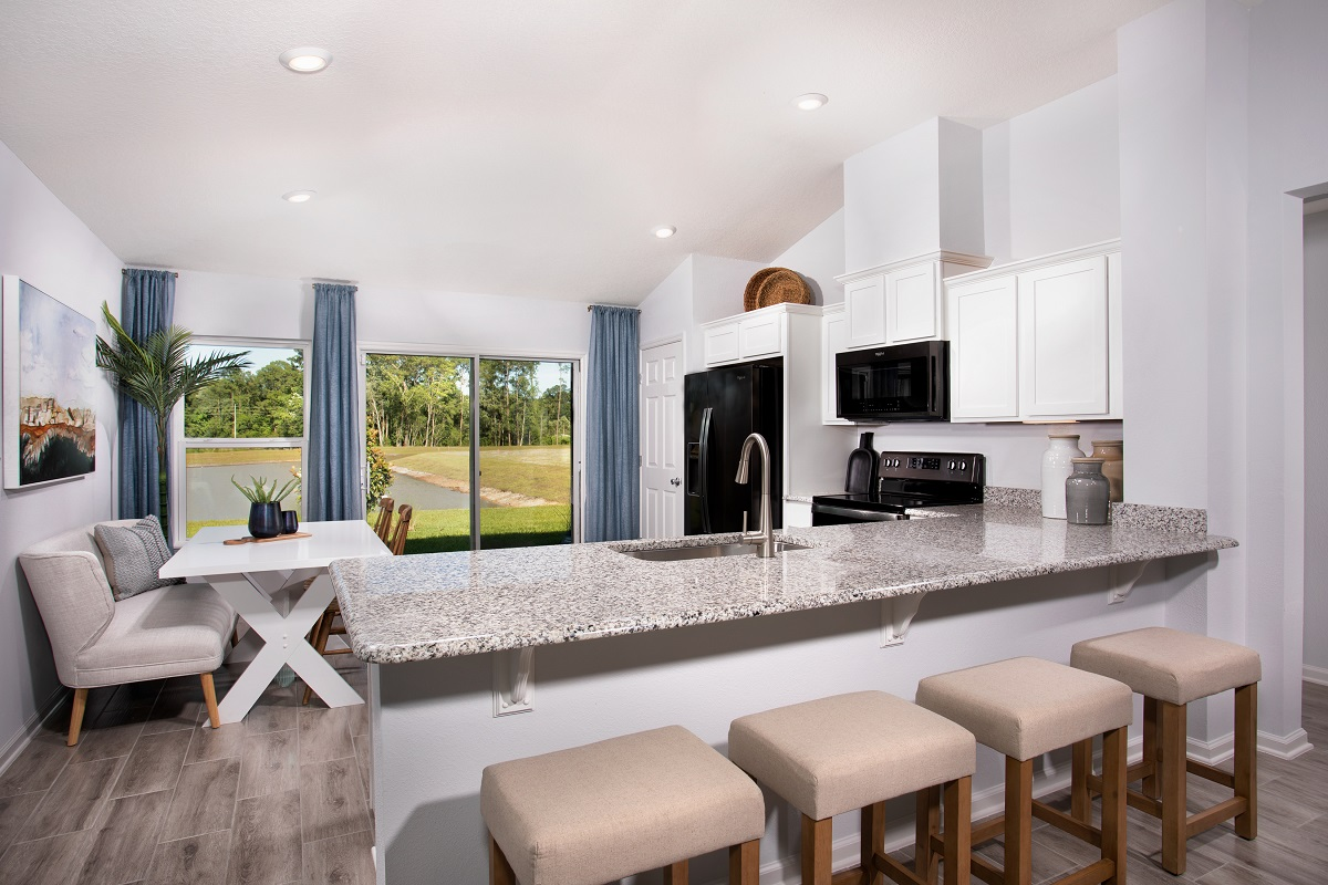 New Homes in Jacksonville, FL - Oakhurst Park Plan 1342 Kitchen