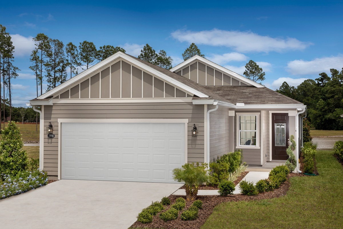 New Homes in Jacksonville, FL - Oakhurst Park Plan 1638 Elevation M