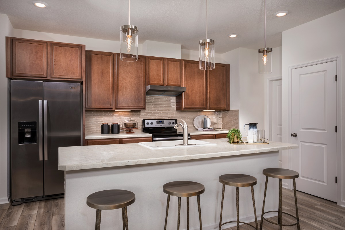 New Homes in Jacksonville, FL - Oakhurst Park Plan 1638 Kitchen
