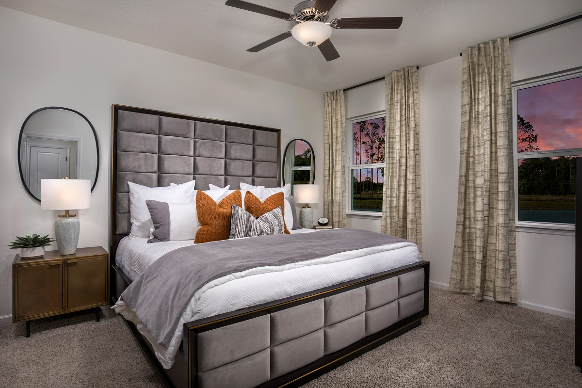 New Homes in Jacksonville, FL - Oakhurst Park Plan 1638 Master Bedroom