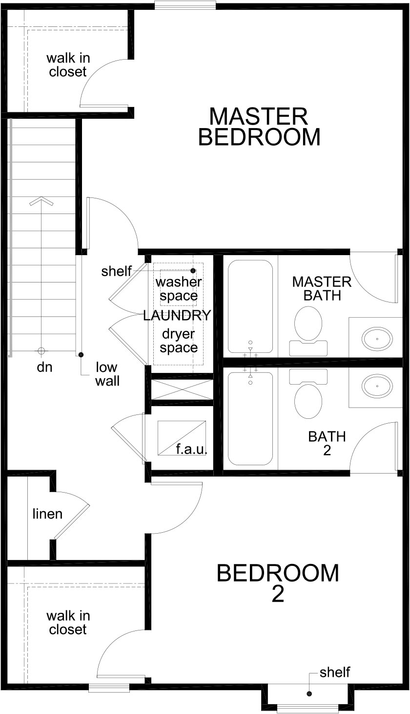 New Homes in St. Augustine, FL - The Emery, Second Floor