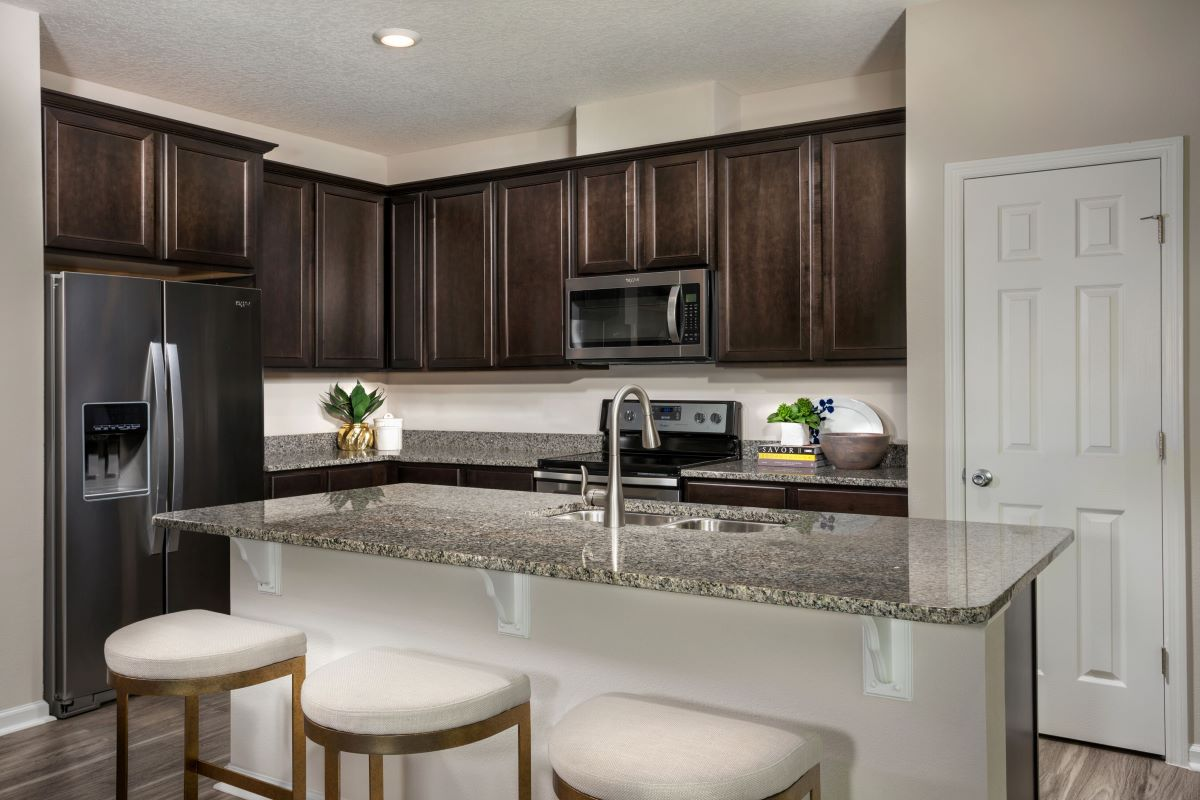 New Homes in St. Augustine, FL - Orchard Park The Pearce Kitchen