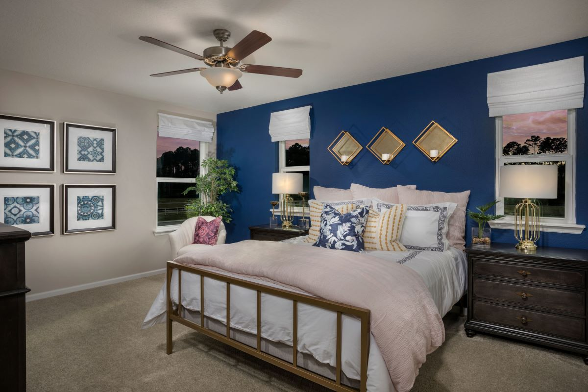 New Homes in St. Augustine, FL - Orchard Park The Pearce Master Bedroom