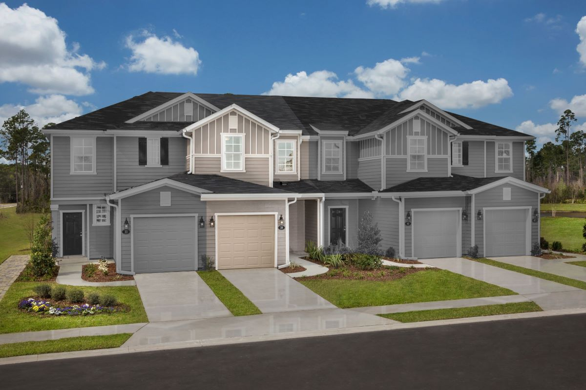New Homes in St. Augustine, FL - Orchard Park Townhomes The Warren Modeled