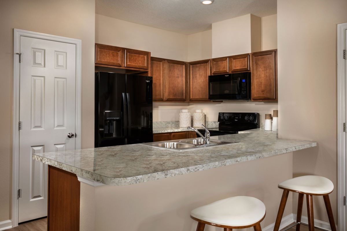 New Homes in St. Augustine, FL - Orchard Park Townhomes The Warren Kitchen