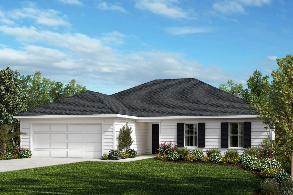 New Homes in Jacksonville, FL - Palmetto Bluff Plan 1769 Elevation L