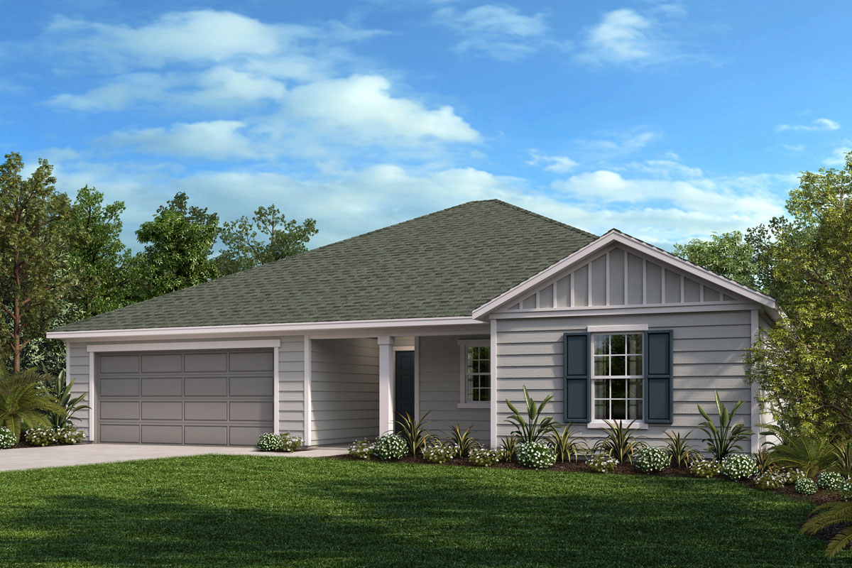 New Homes in Jacksonville, FL - Greene Meadows Plan 1903 Elevation M