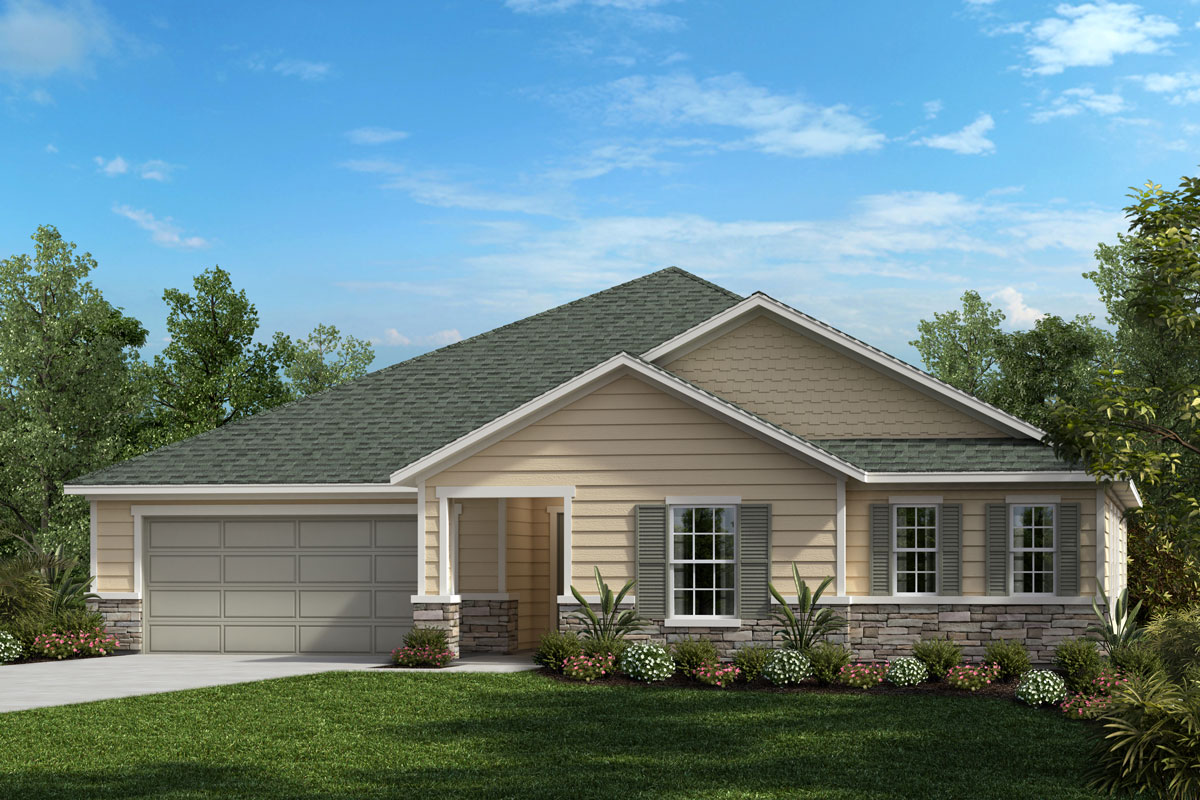 New Homes in Jacksonville, FL - Palmetto Bluff Plan 2336 Elevation N
