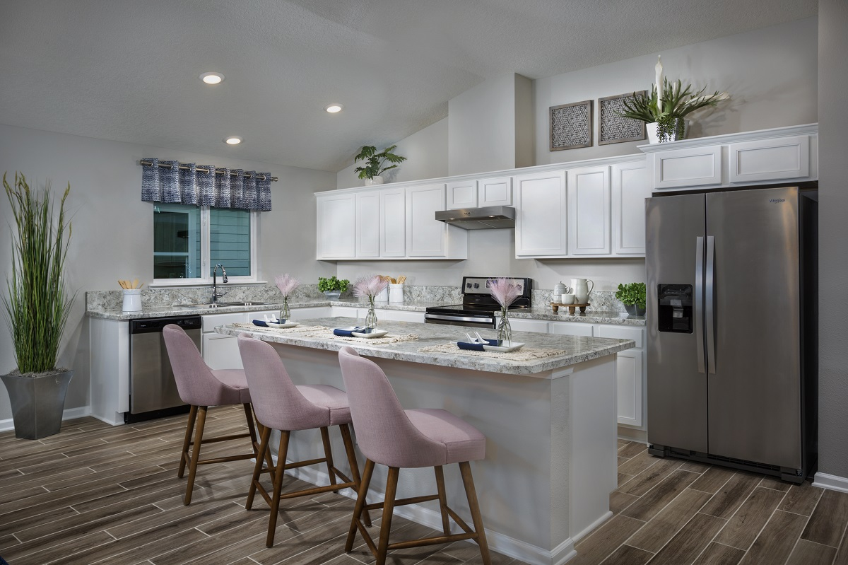 New Homes in Jacksonville, FL - Price Park The Claremont Kitchen
