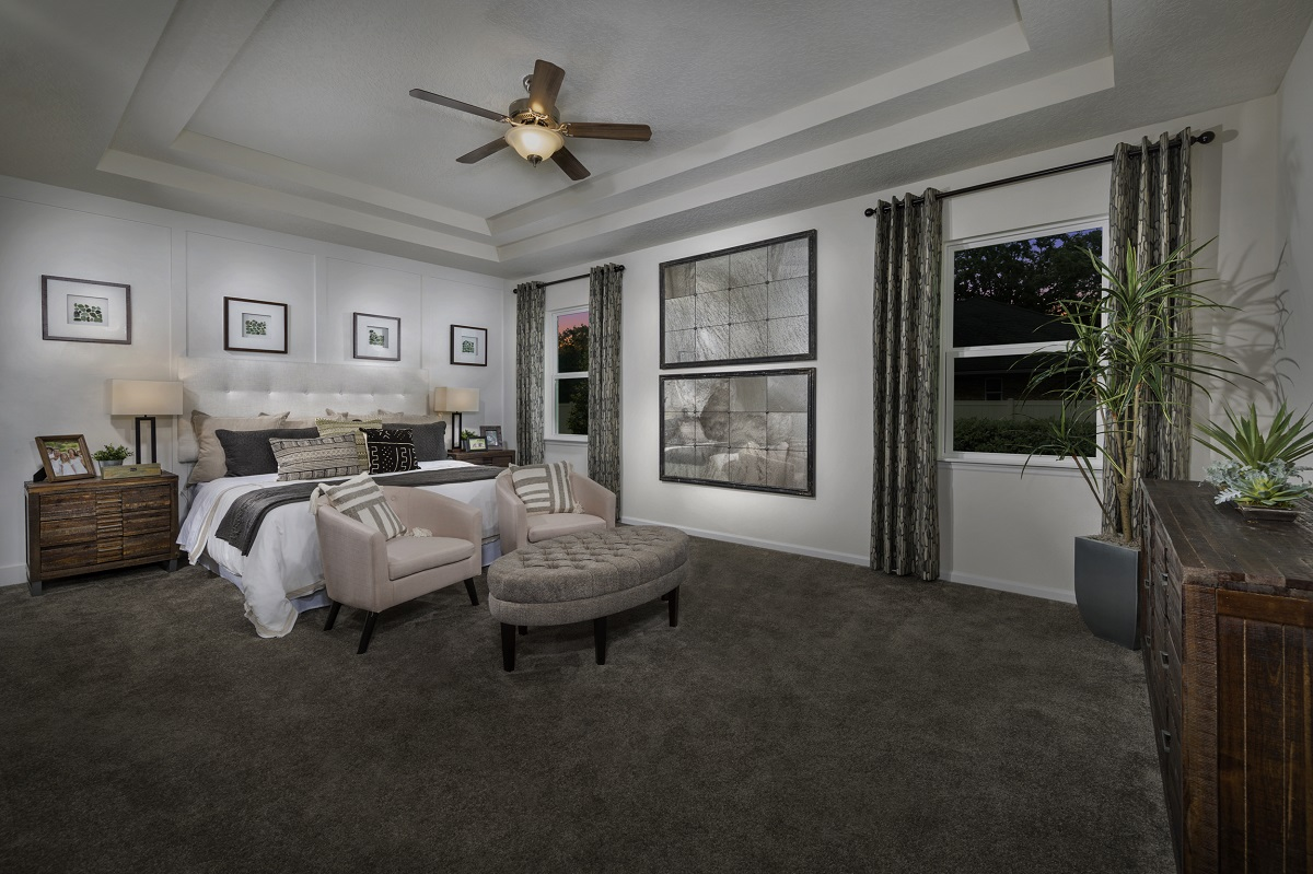 New Homes in Jacksonville, FL - Price Park The Porter Master Bedroom