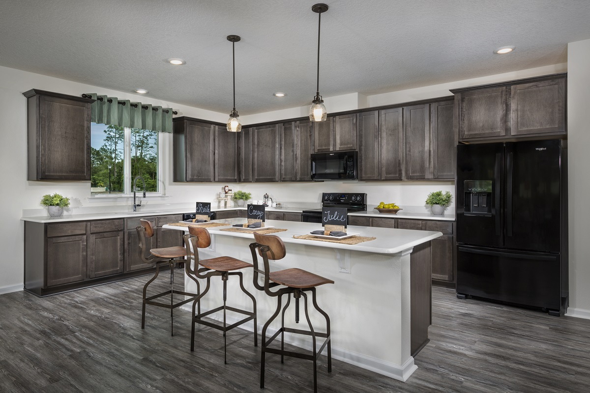 New Homes in Jacksonville, FL - Price Park The Porter Kitchen