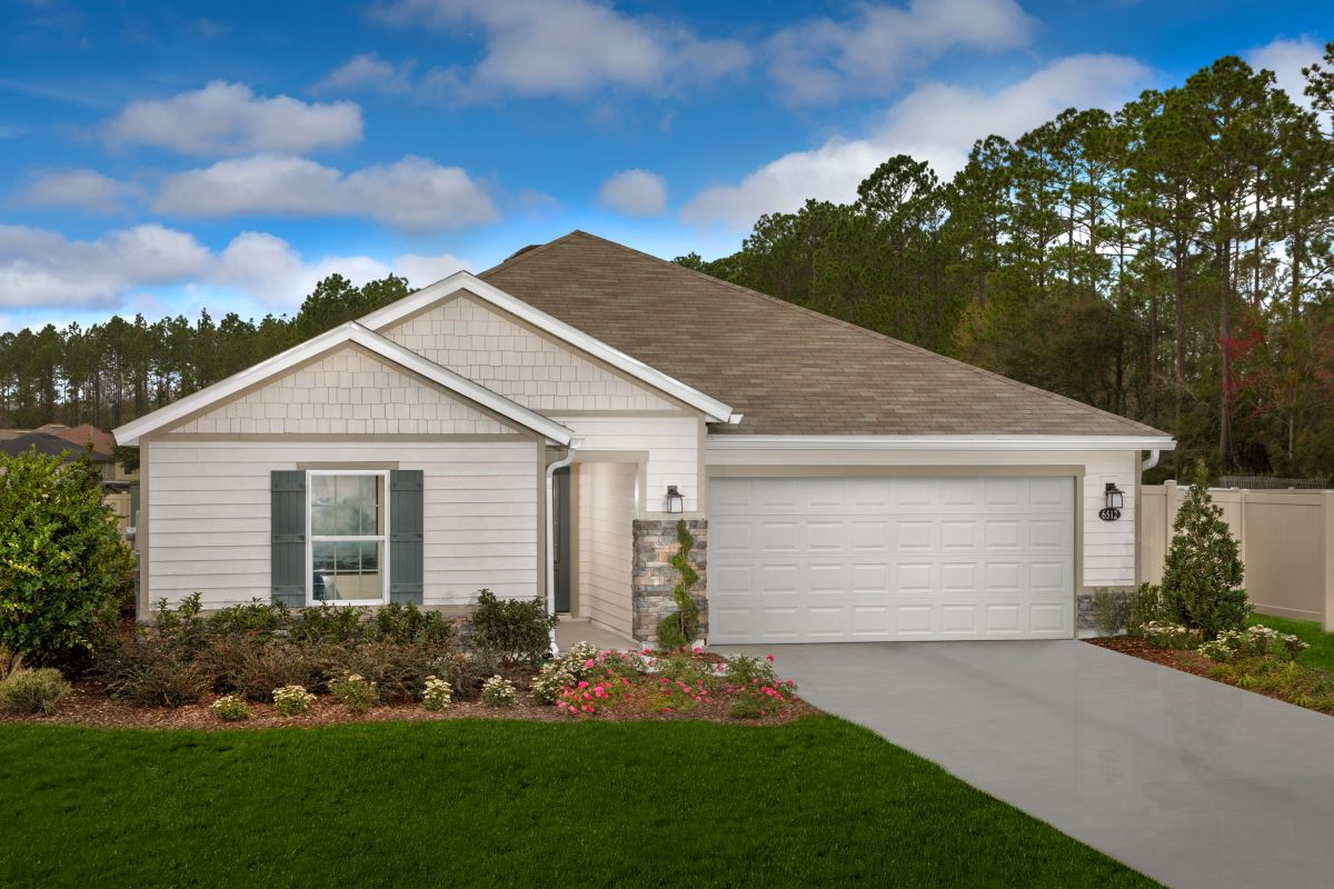 New Homes in Jacksonville, FL - Plan 1541 Modeled