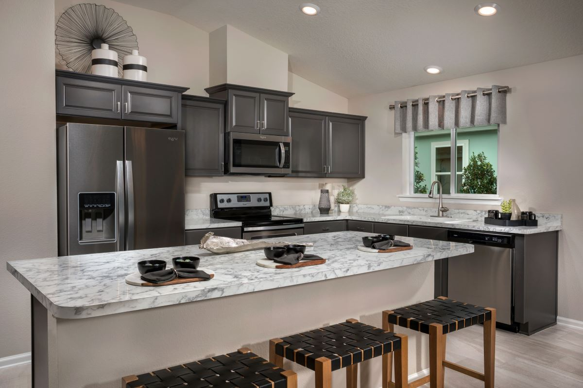New Homes in Jacksonville, FL - Sandler Lakes The Berkley Kitchen