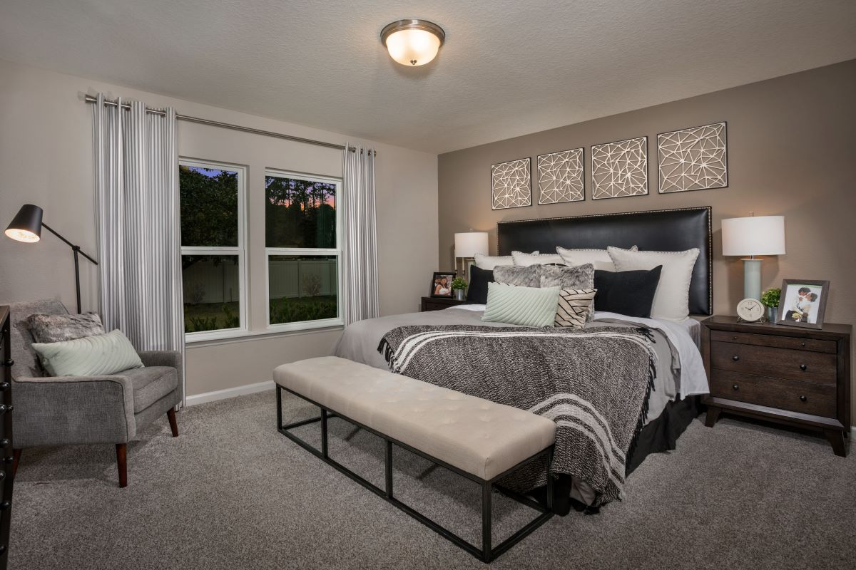 New Homes in Jacksonville, FL - Sandler Lakes The Berkley Master Bedroom