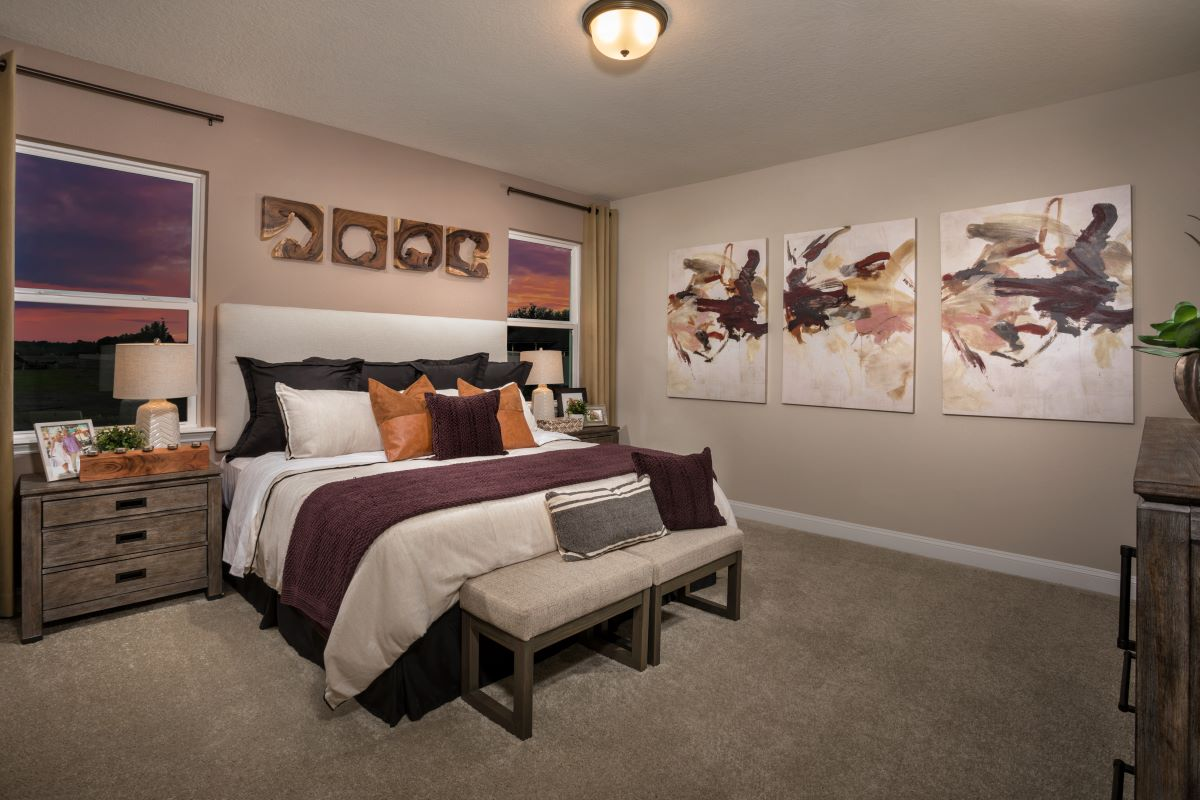 New Homes in Jacksonville, FL - Sandler Lakes The Sullivan Master Bedroom