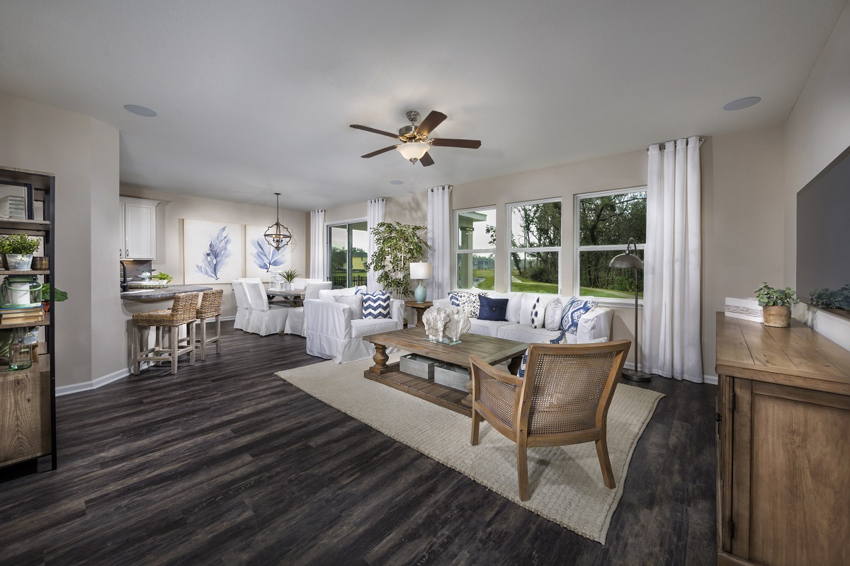 New Homes in St. Augustine, FL - Sawmill Landing The Savannah Great Room