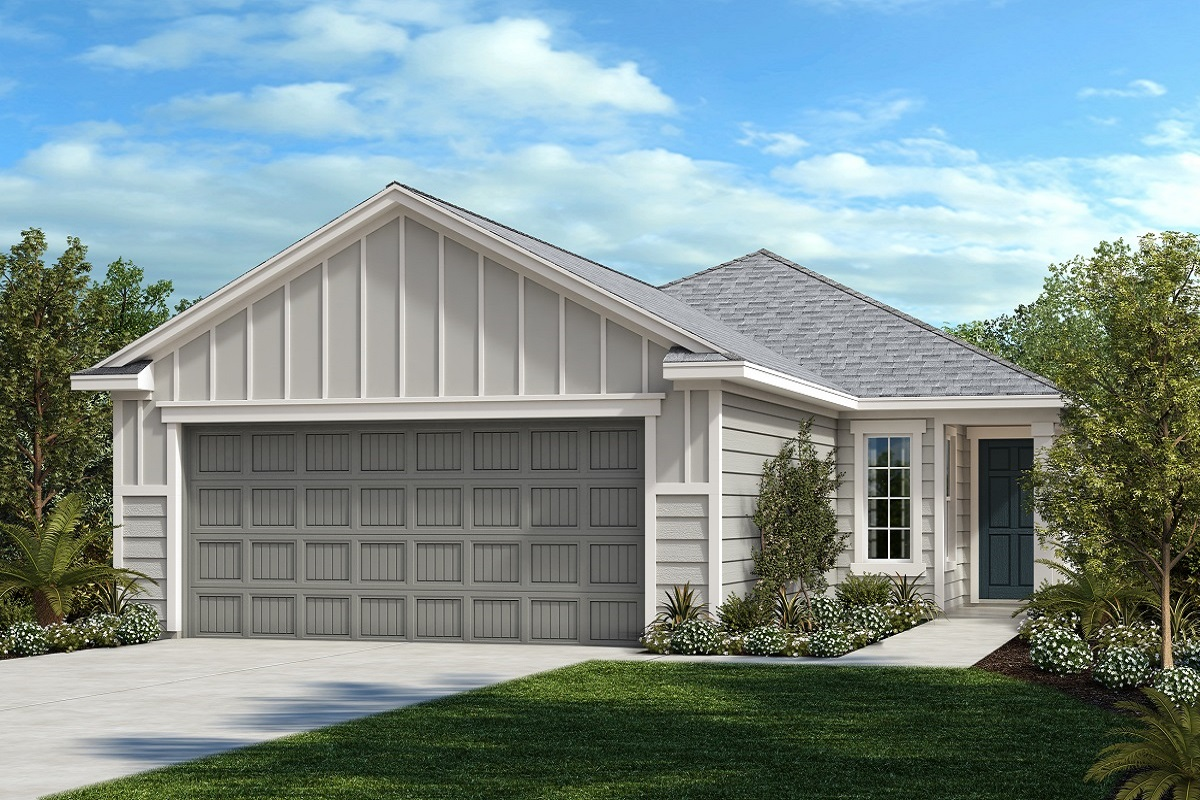 New Homes in Jacksonville, FL - Oakhurst Park Plan 1221 Elevation M