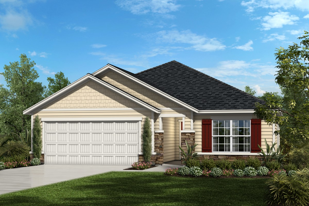 New Homes in St. Augustine, FL - Southshore at Bannon Lakes - Executive Series The Stockbridge Elevation N
