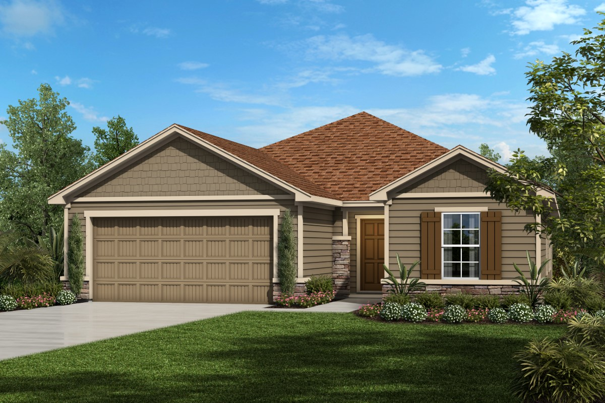 New Homes in St. Augustine, FL - Southshore at Bannon Lakes - Executive Series The Captiva Elevation N