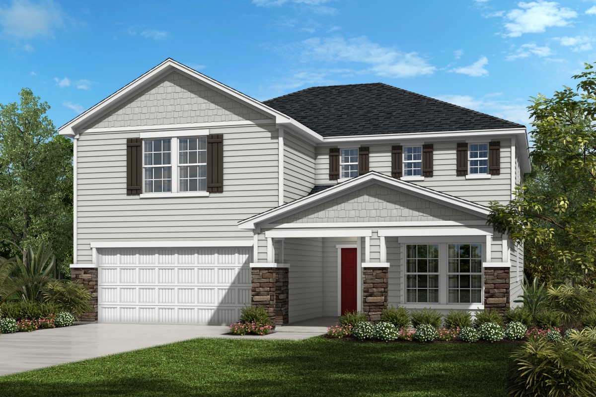 New Homes in St. Augustine, FL - Southshore at Bannon Lakes - Executive Series The Hawthorne Elevation N