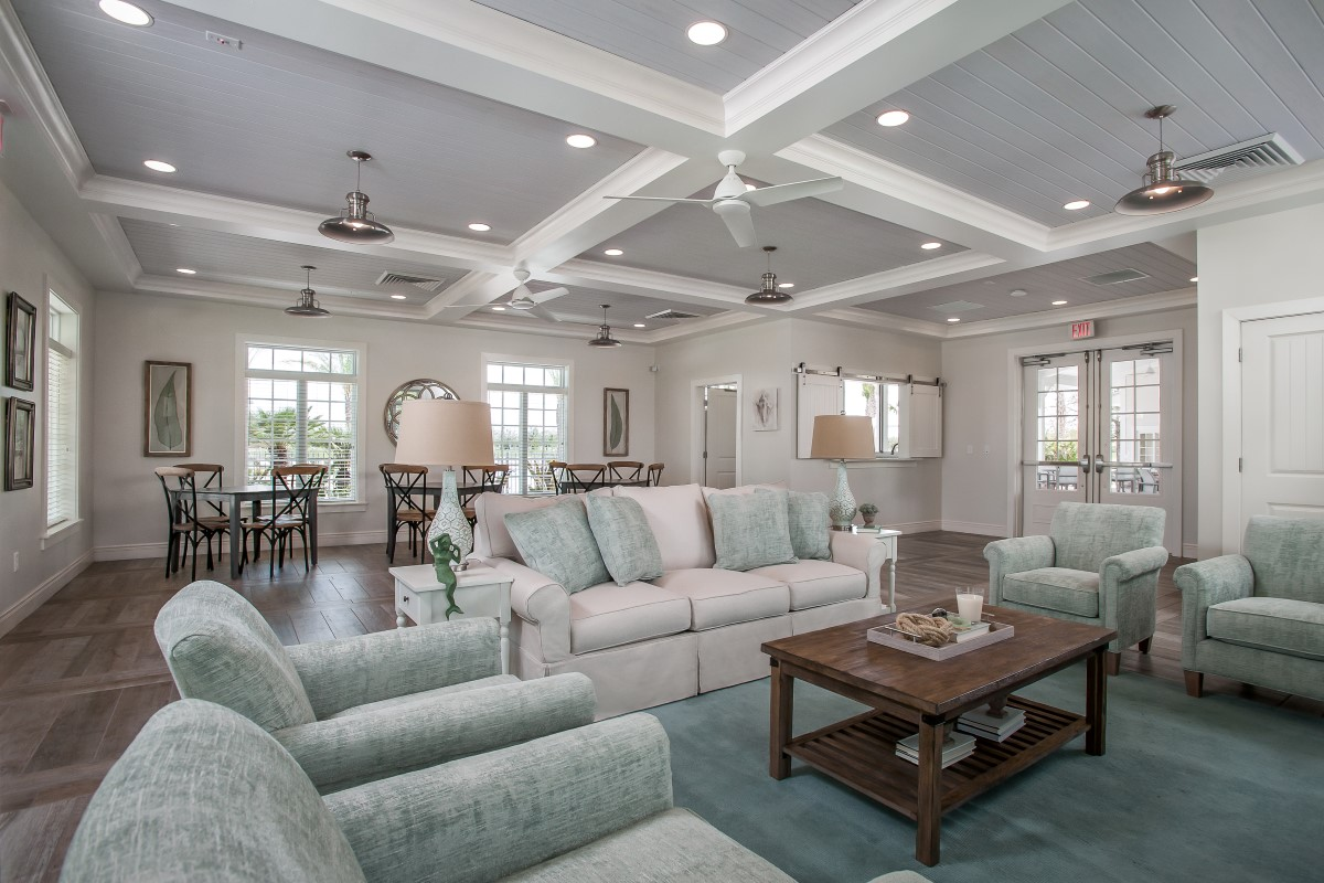 New Homes in St. Augustine, FL - Southshore at Bannon Lakes - Executive Series Bannon Lakes Amenity Center Clubhouse