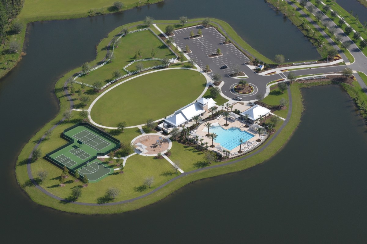 New Homes in St. Augustine, FL - Southshore at Bannon Lakes - Classic Series Bird's Eye View