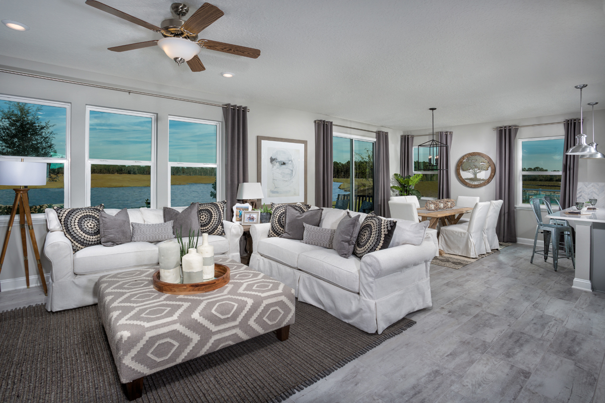 New Homes in St. Augustine, FL - Southshore at Bannon Lakes - Classic Series The Westin Great Room