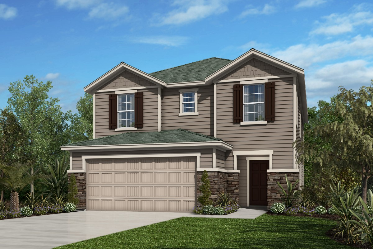 New Homes in St. Augustine, FL - Southshore at Bannon Lakes - Classic Series The Fulton Elevation N