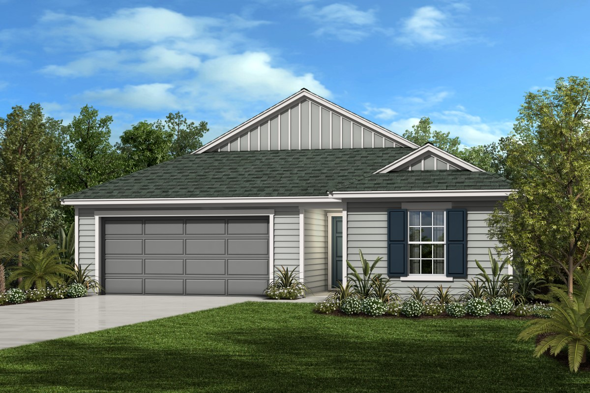 New Homes in Jacksonville, FL - Plan 1541
