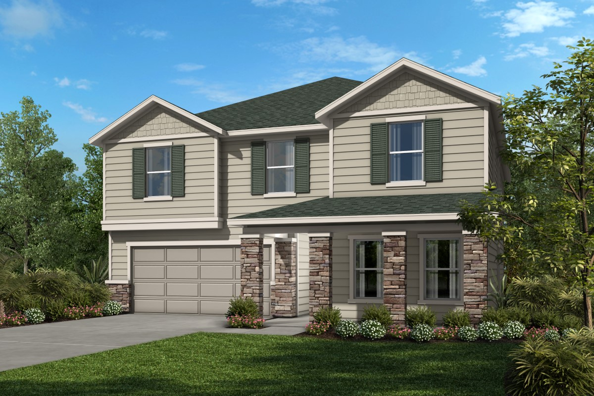 New Homes in Jacksonville, FL - Palmetto Bluff Plan 3016 Elevation N