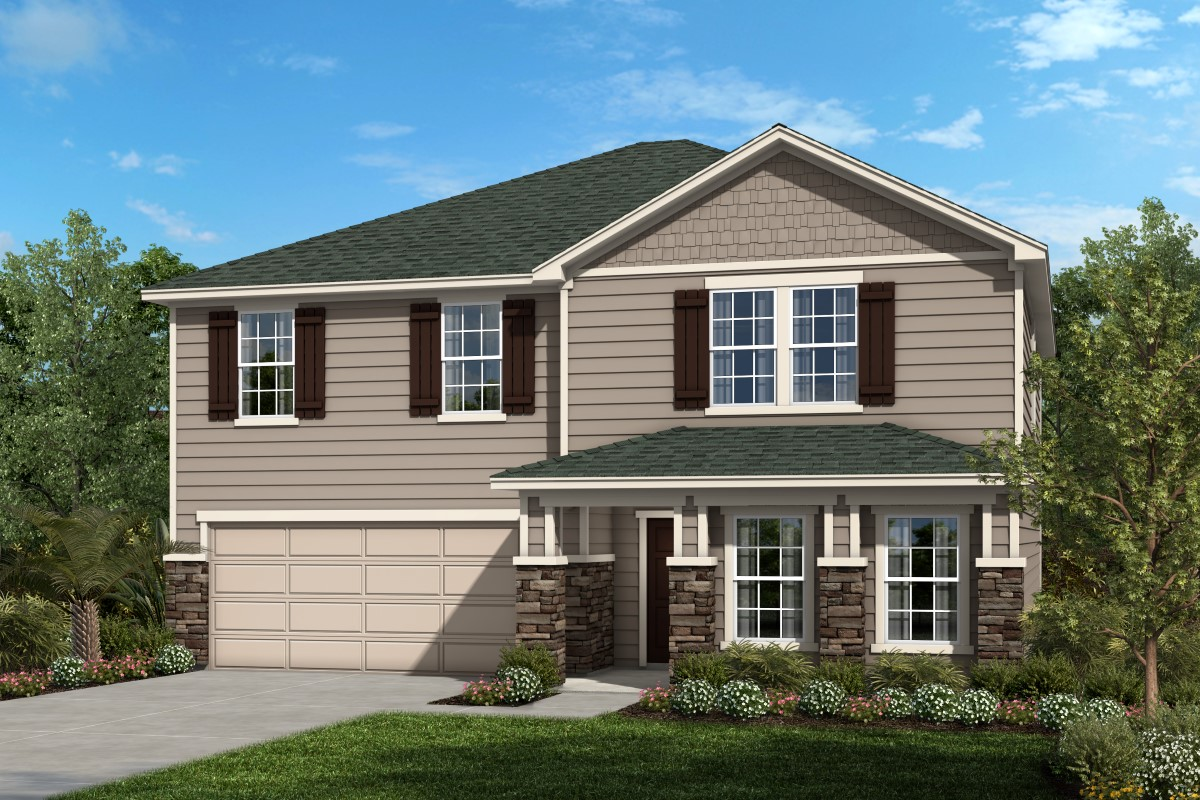 New Homes in Green Cove Springs, FL - Village Park Plan 2566
