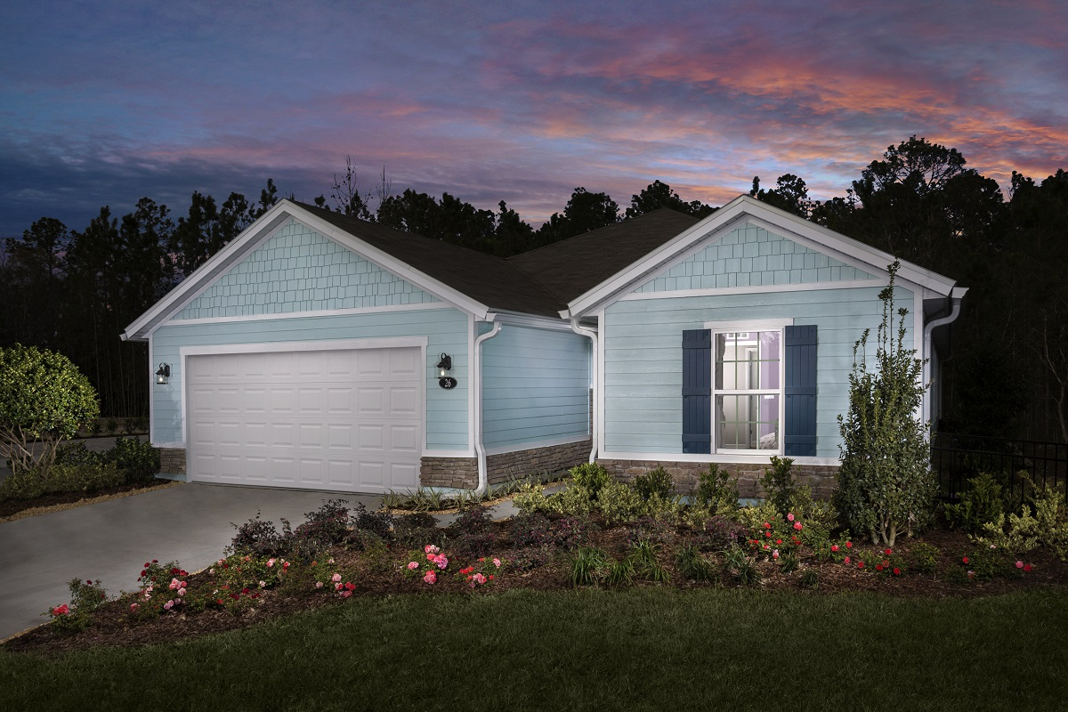 New KB quick-move-in homes available at Tomoka Pines in St. Augustine, FL.  is one of many quick-move-in homes to choose from.