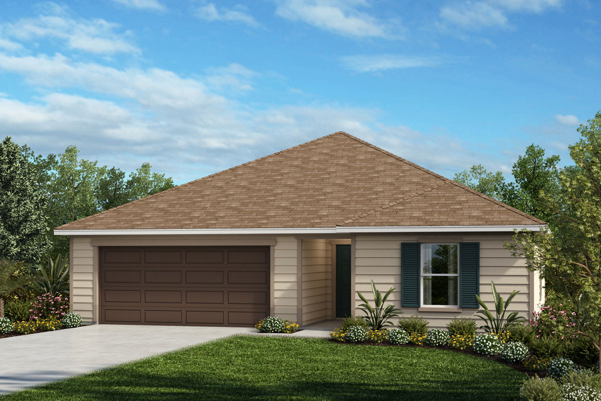 New Homes in Jacksonville, FL - Barrington Cove Plan 1286 Elevation L